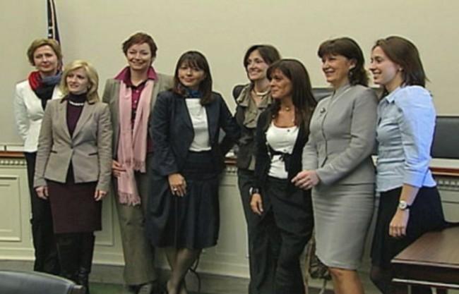Žene lideri u Americi