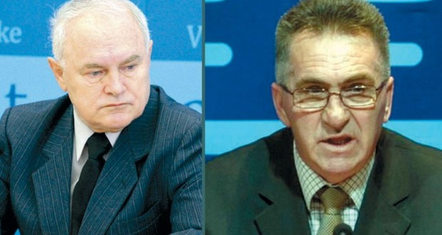 Nedeljko Mitrović i Branislav Dukić