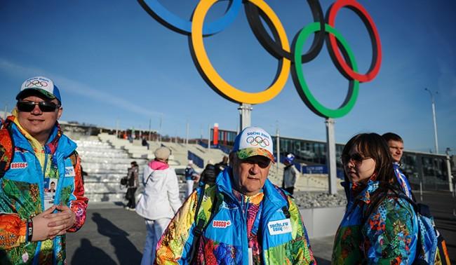 Сочи перед открытием ХХII зимних Олимпийских игр