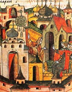 Lazar-Srbin-Hilandarac-pokazuje-minijaturu-svog-sata-knezu-Moskovskom-Vasiliju-Dmitrijevicu