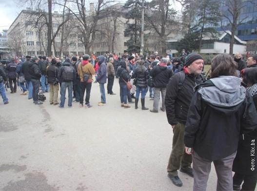 Sarajevo novi protest
