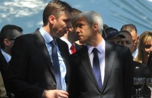 Tadić i Vučić