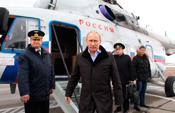 Reuters/Mikhail Klimentyev/RIA Novosti/Pool