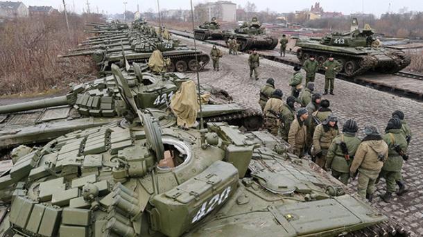 Dislocation of Baltic Fleet infantry