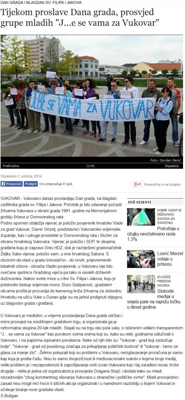 Tijekom-proslave-Dana-grada-prosvjed-grupe-mladih-J-e-se-vama-za-Vukovar 2014-05-04 07-56-39