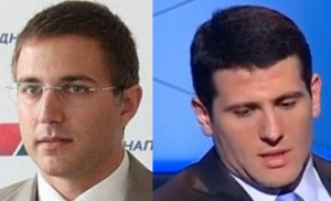 Doktori: Nebojša Stefanović i Aleksandar Šapić