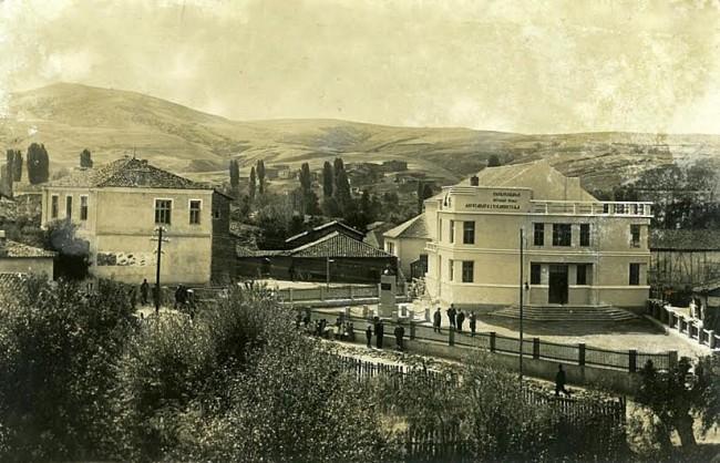 Dom u Berovu sa bistom (istocna Makedonija)