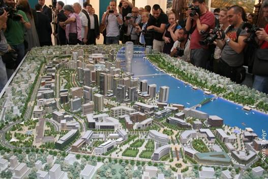 Maketa projekta Beograd na vodi