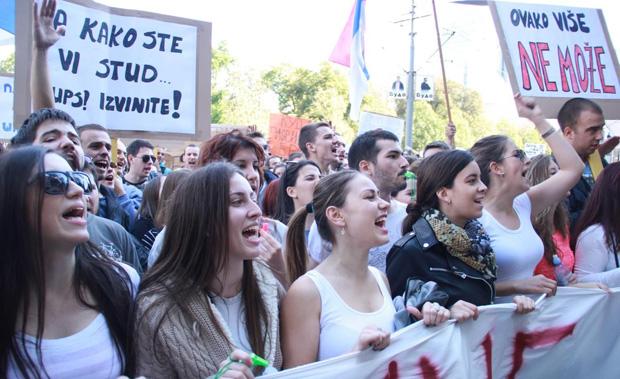 FoNet-STUDENTI-PROTEST