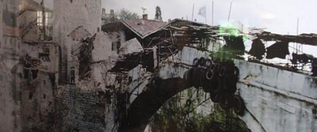 srušen stari most