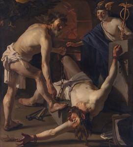 Dirck_van_Baburen_-_Prometheus_door_Vulcanus_geketend