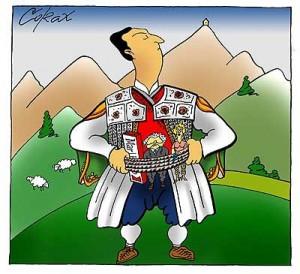 karikatura-milo-corax