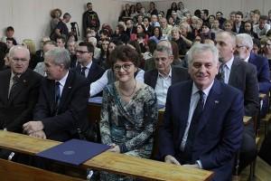 Tomislav Nikolić na Filološkom fakultetu / Foto: FoNet