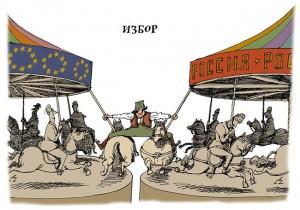 Karikatura, Politika, 2010