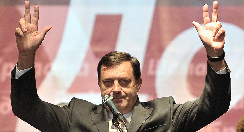 Milorad Dodik © AFP 2015/ ELVIS BARUKCIC