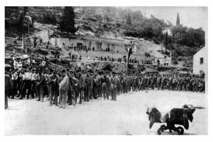 Sokoli u Dubrovniku posle Prvog svetskog rata.