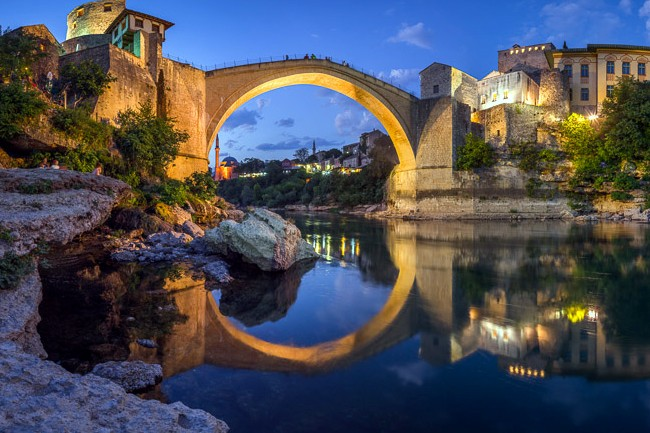 Mostar Reflection