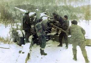 Artiljeriski polozaj kod Sipraga