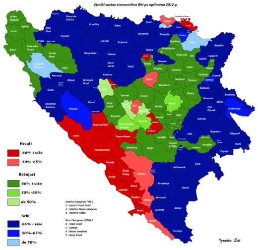 Karta Balkana 2016.Zasto Nema Rezultata Popisa U Bih Koreni