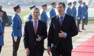 Stoltenberg i Vučić