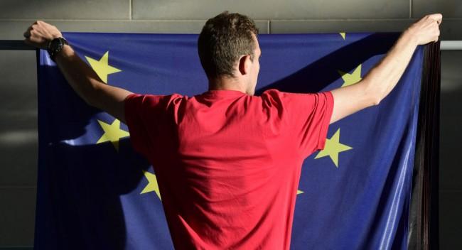 EU zastava © AFP 2016 John Macdougall