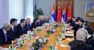 Билатерални састанак кинеске и српске делегације © Фото: Раде Прелић