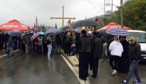 Srbi protestuju protiv odluka Prištine