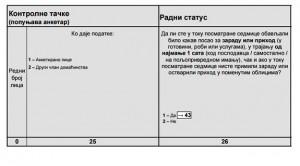 Pitanje iz Ankete o radnoj snazi / Foto: Printscreen