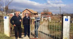 Žarko Jeftić sa sinovima