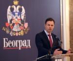 Budžetski novac firmama koje nemaju veze sa informisanjem: gradonačelnik Beograda Siniša Mali, Fotograf: www.beograd.rs