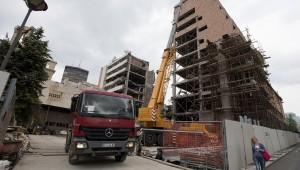 Generalstab rušenje. Foto: Srdjan Ilić