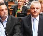 Boško Ničić i Mlađan Dinkić