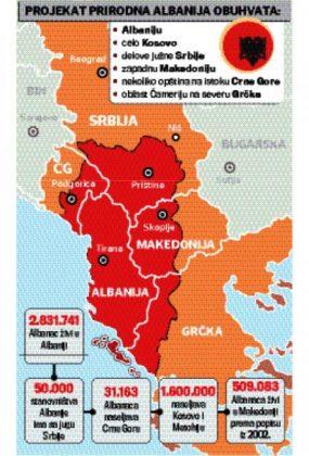 Mapa Velika Albanija S 285x420 Koreni