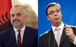 A. Vučić i E. Rama