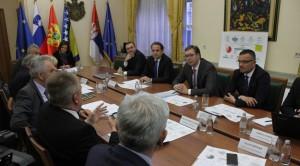 Sastanak premijera Srbije sa ministrima trgovine iz regiona / Foto: FoNet, Zoran Mrđa