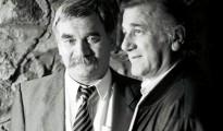 Bata Živojinović i Boris Dvornik u Nišu | Foto: D. M. CAR