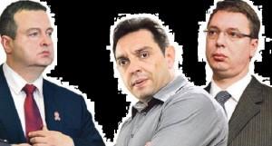Dačić, Vučić i Vulin