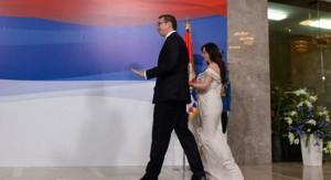 Aleksandar Vučić sa suprugom (Foto: Tanja Valič/Tanjug)