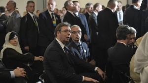 Aleksandar Vučić i Goran Svilanović