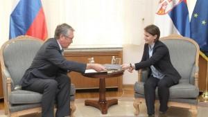 Ambasador Čepurin i Ana Brnabić