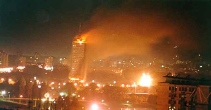 Хемијско загађење Србије изазвано НАТО агресијом