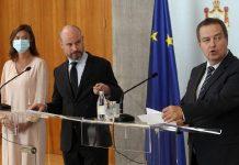 Tanja Fajon, Vladimir Bilčik i Ivica Dačić