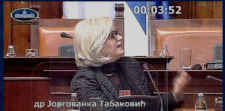 Jorgovanka Tabakovic