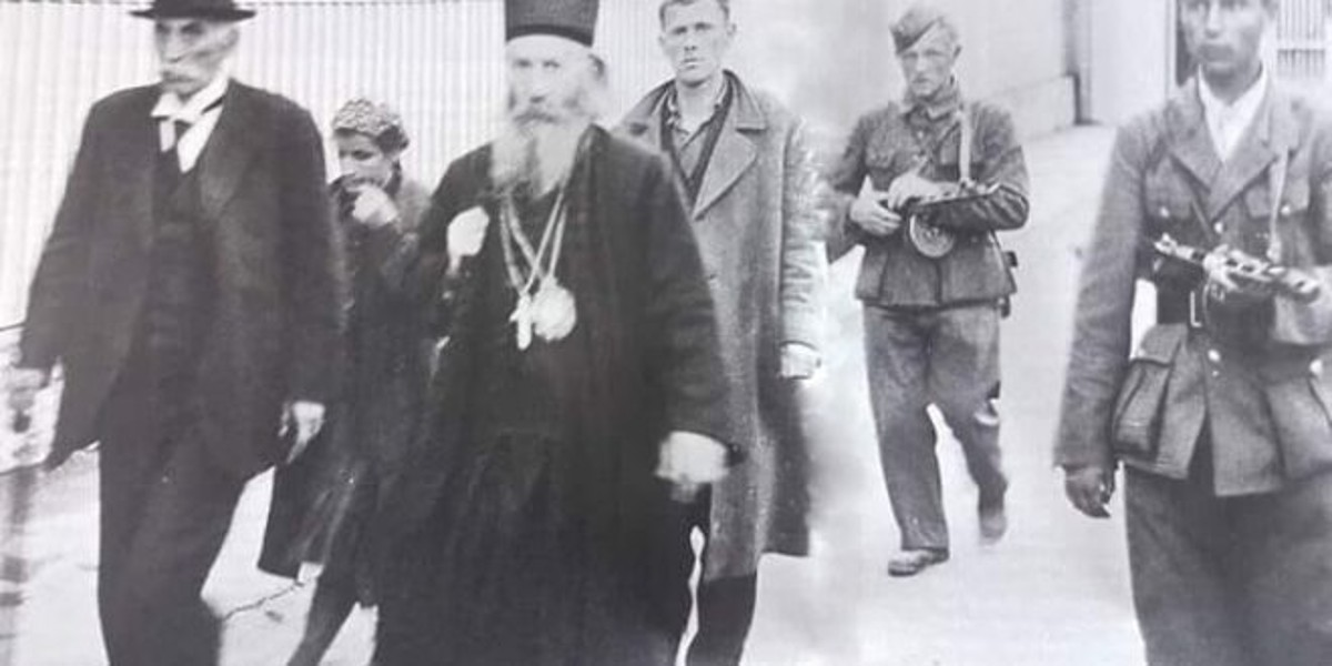 Sprovod pod stražom mitropolita Joanikija