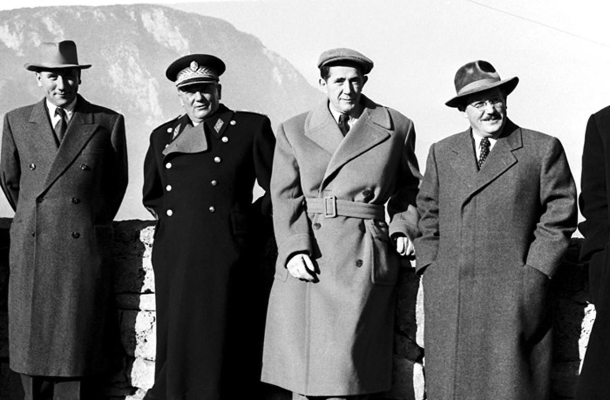 Poker komunističkih asova u Jugoslaviji: Ranković, Tito, Đilas i Kardelj